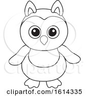October 20th, 2018: Clipart Of A Lineart Owl Toy Royalty Free Vector Illustration by Alex Bannykh