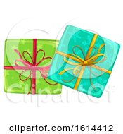 October 21st, 2018: Clipart Of Christmas Gifts Royalty Free Vector Illustration by Vector Tradition SM