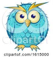 Poster, Art Print Of Blue Owl