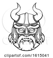 Viking Warrior Sports Mascot Character by AtStockIllustration