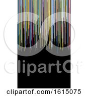 Colorful Stripes Business Card Or Background Design