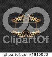 Elegant Background Design In Gold And Black