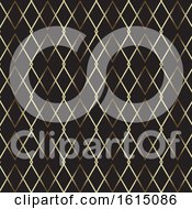 Abstract Background With A Gold Pattern Design