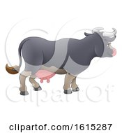 Cow Animal Cartoon Character by AtStockIllustration