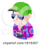 Tourist Man Avatar People Icon