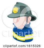 Fireman Avatar People Icon
