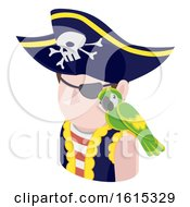 Pirate Man Avatar People Icon
