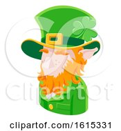 Leprechaun Man Avatar People Icon