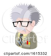 Science Geek Man Avatar People Icon by AtStockIllustration