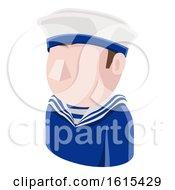 Poster, Art Print Of Sailor Man Avatar People Icon