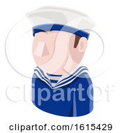 Sailor Man Avatar People Icon