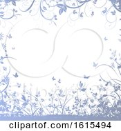 Poster, Art Print Of Save The Date Invitation With Decorative Design