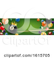 Poster, Art Print Of Billiards Website Banner