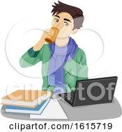 Poster, Art Print Of Teen Boy Energy Drink Illustration