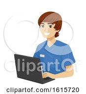 Poster, Art Print Of Teen Boy Med School Experience Data Illustration