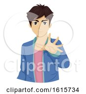 Teen Boy Illusionist Illustration