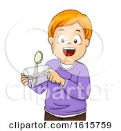 Kid Boy Spoon Catapult Cup Illustration by BNP Design Studio