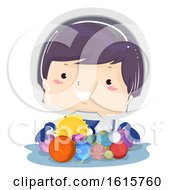 Kid Boy Toys Planet Illustration
