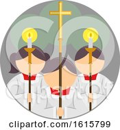 Altar Servers Icon by BNP Design Studio