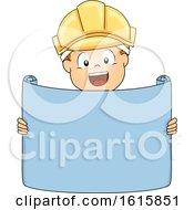 Poster, Art Print Of Kid Boy Engineer Illustration
