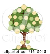 Tree Blank Family Tree Illustration