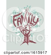 Tree Family Illustration