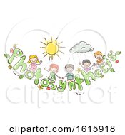 Doodle Kids Photosynthesis Tomato Illustration