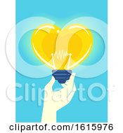 Hand Donation Idea Illustration