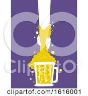 Hands Alcohol Abuse Awareness Illustration