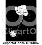 Hand Hypnosis Clock Sway Illustration