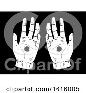 Hand Stigmata Hole Illustration