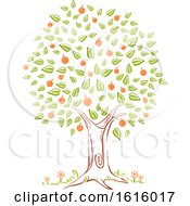 Tree Spring Season Illustration