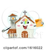 Poster, Art Print Of Mascot Church Records Illustration