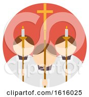 Poster, Art Print Of Mass Icon