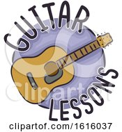 Guitar Lessons Illustration
