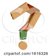 Woodwork Question Mark Illustration