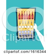 Hand Refrigerator Beers Illustration by BNP Design Studio