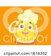 Mascot Beer Mug Fat Illustration