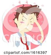 Man Hangover Illustration