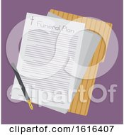 Funeral Plan Illustration by BNP Design Studio