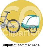 Trailer Bike Illustration