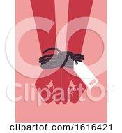 Hands Human Trafficking Awareness Illustration