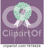 Poster, Art Print Of Funeral Flower Traditional Illustration