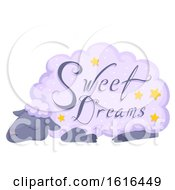 Sheep Sleep Sweet Dreams Illustration