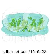 Botany Algae Illustration