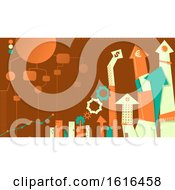Business Administration Design Illustration