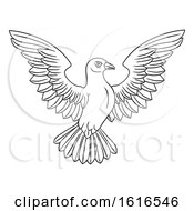 Poster, Art Print Of Black And White Dove Concept