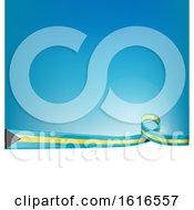 Poster, Art Print Of Bahamas Flag Background