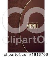 Elegant Menu Cover Design