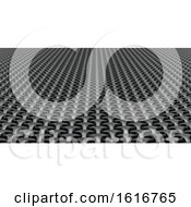 3D Geometric Weave Abstract Wallpaper Background